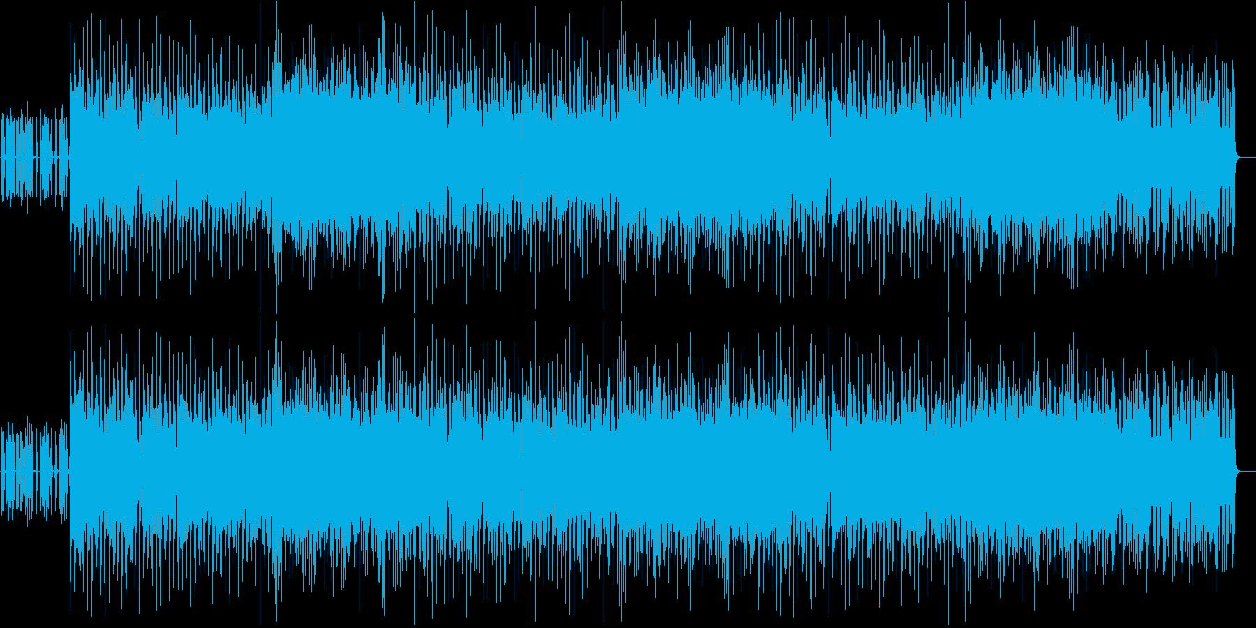 お急ぎロックの再生済みの波形