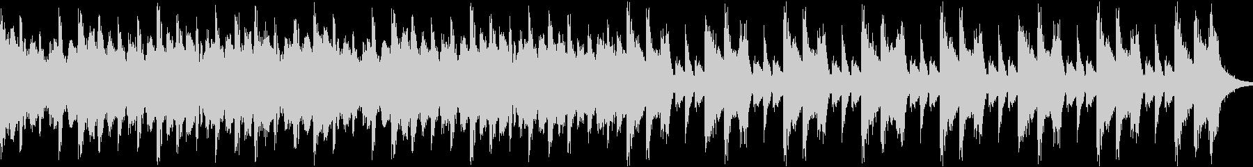 軽やかなシンセが印象的なスローテンポ曲の未再生の波形