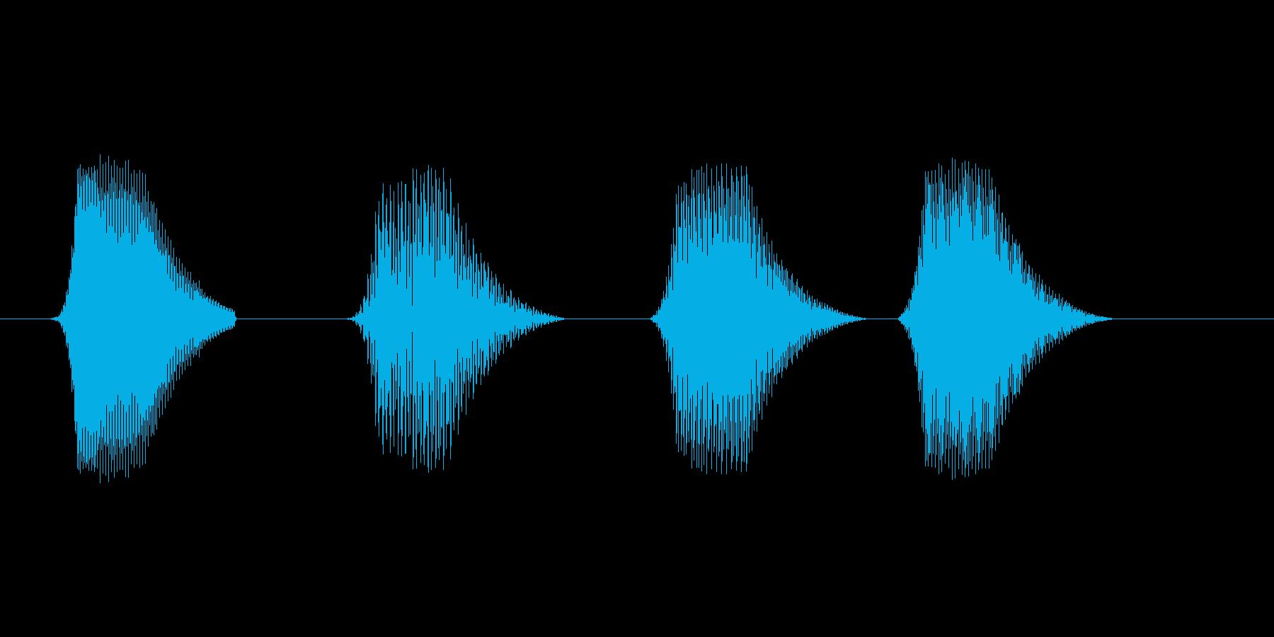 ファミコン風効果音 決定音系です 27の再生済みの波形