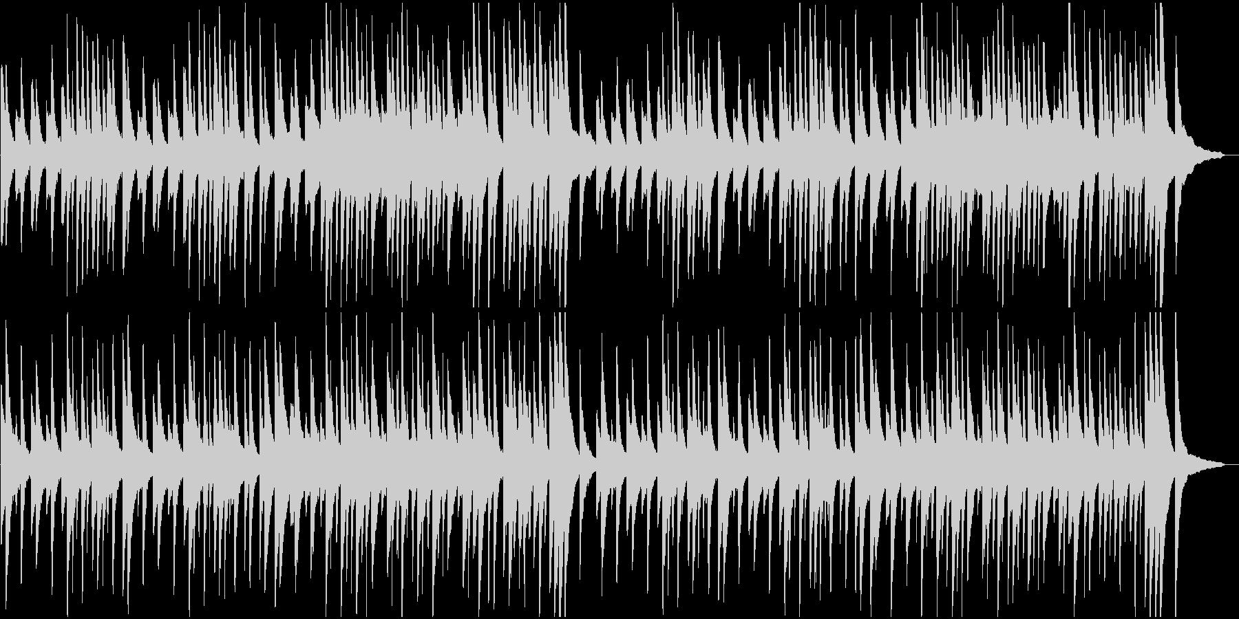 ピアノ名曲サティ 幻想的でゆったりの未再生の波形