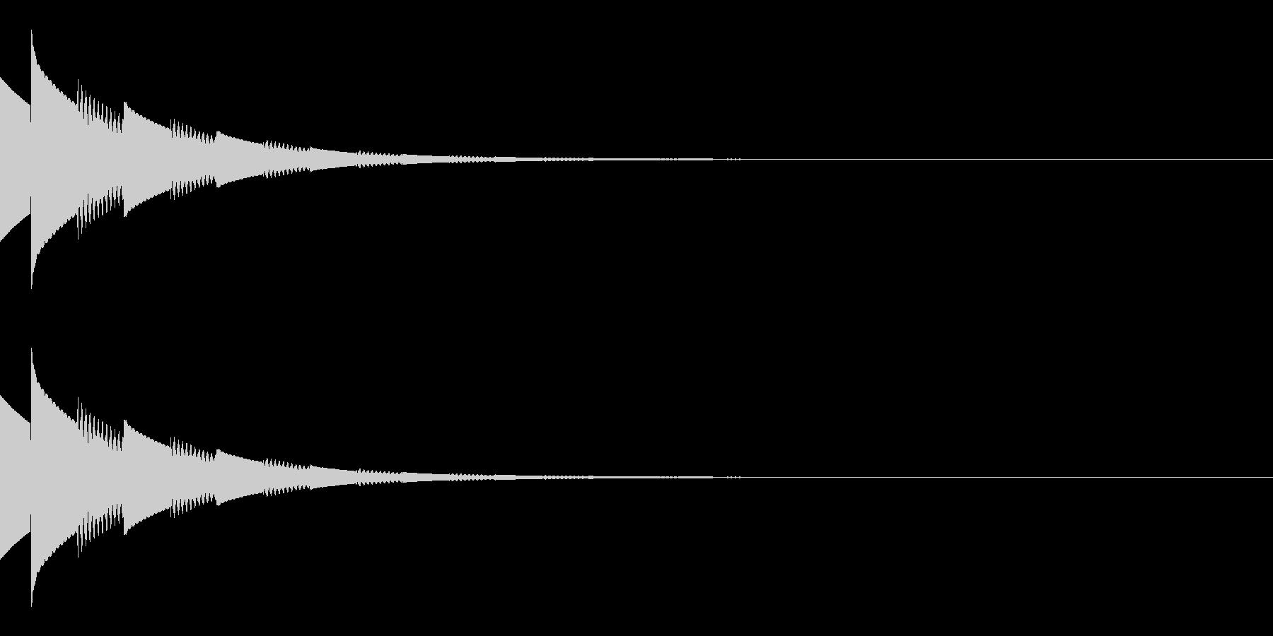 キラキラ(星/コイン/アイテム/エコー)の未再生の波形