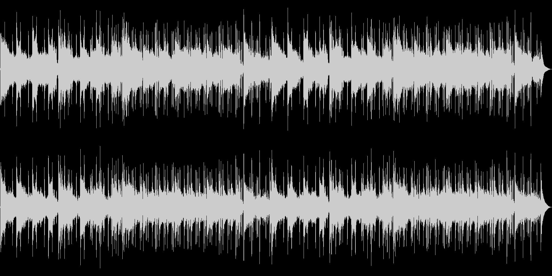 シリアスになっていく小粋なアシッドジャズの未再生の波形