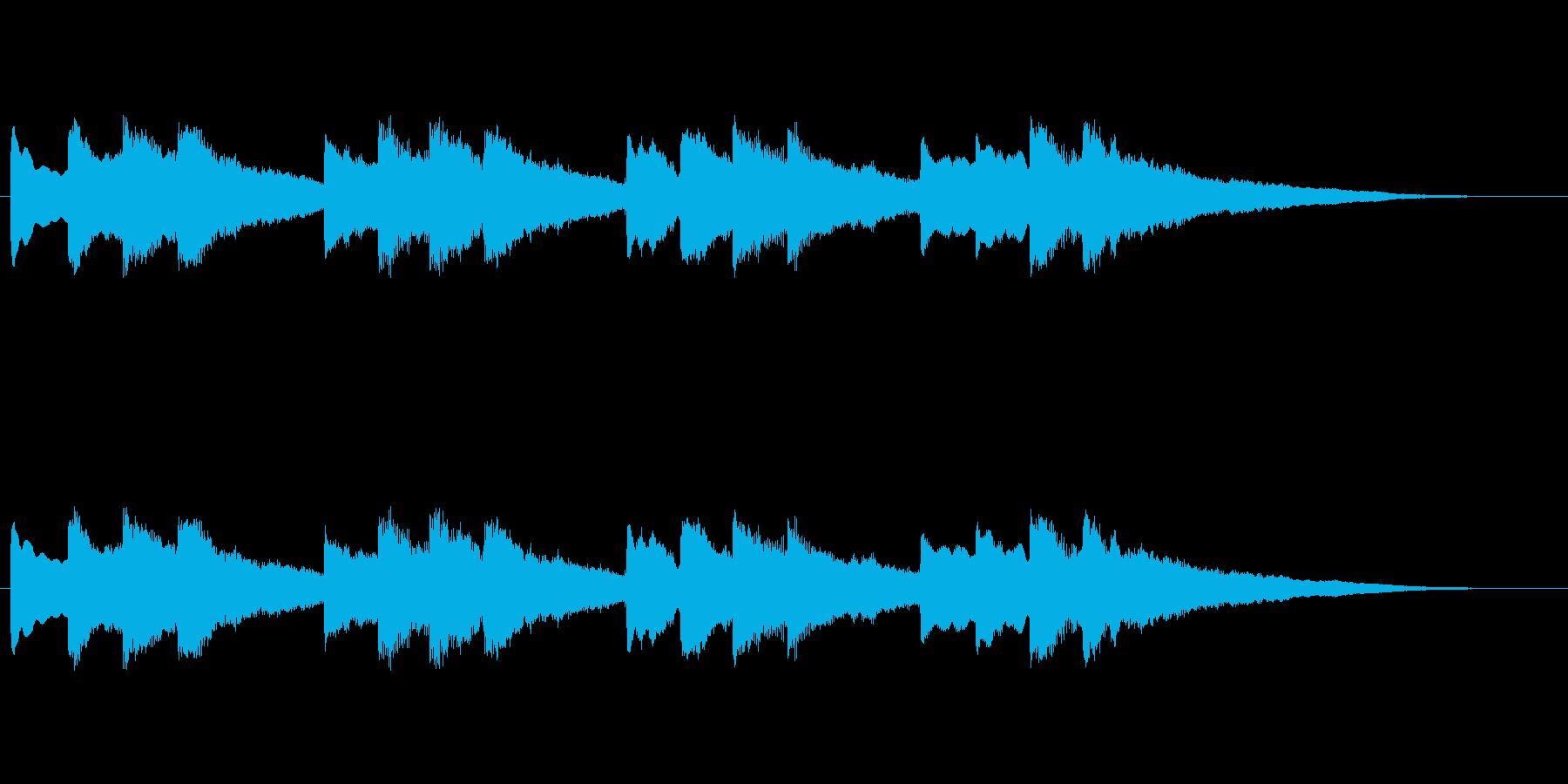 【チャイム 学校02-04】の再生済みの波形