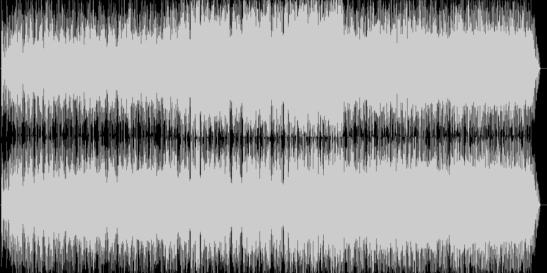 曲ができた時点で、サーフィングのイメ…の未再生の波形