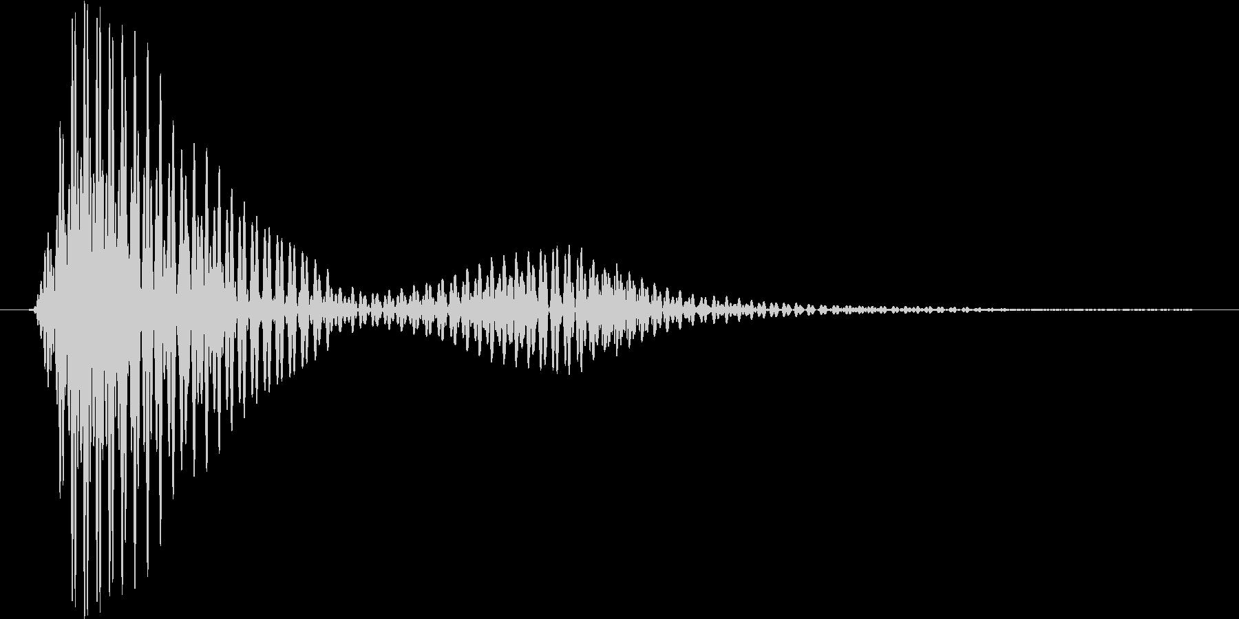 レーザーブレード2の未再生の波形