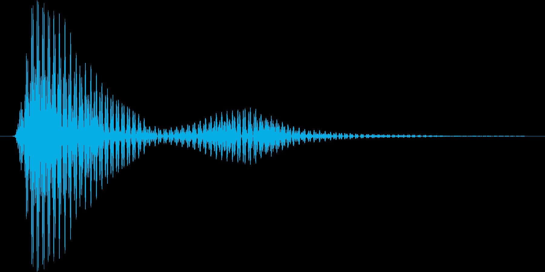 レーザーブレード2の再生済みの波形