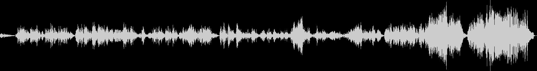 F・リスト:ラ・カンパネラ(ピアノソロ)の未再生の波形