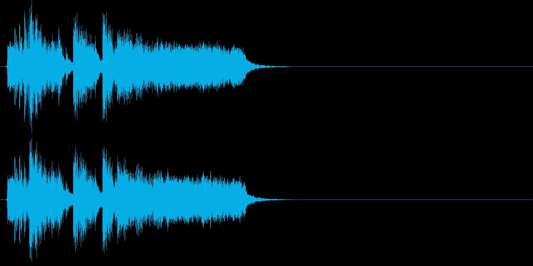 ニュース 場面転換 報道 アタック 情報の再生済みの波形