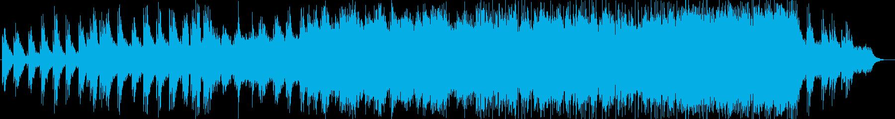 ピアノとストリングスの壮大なポップスの再生済みの波形