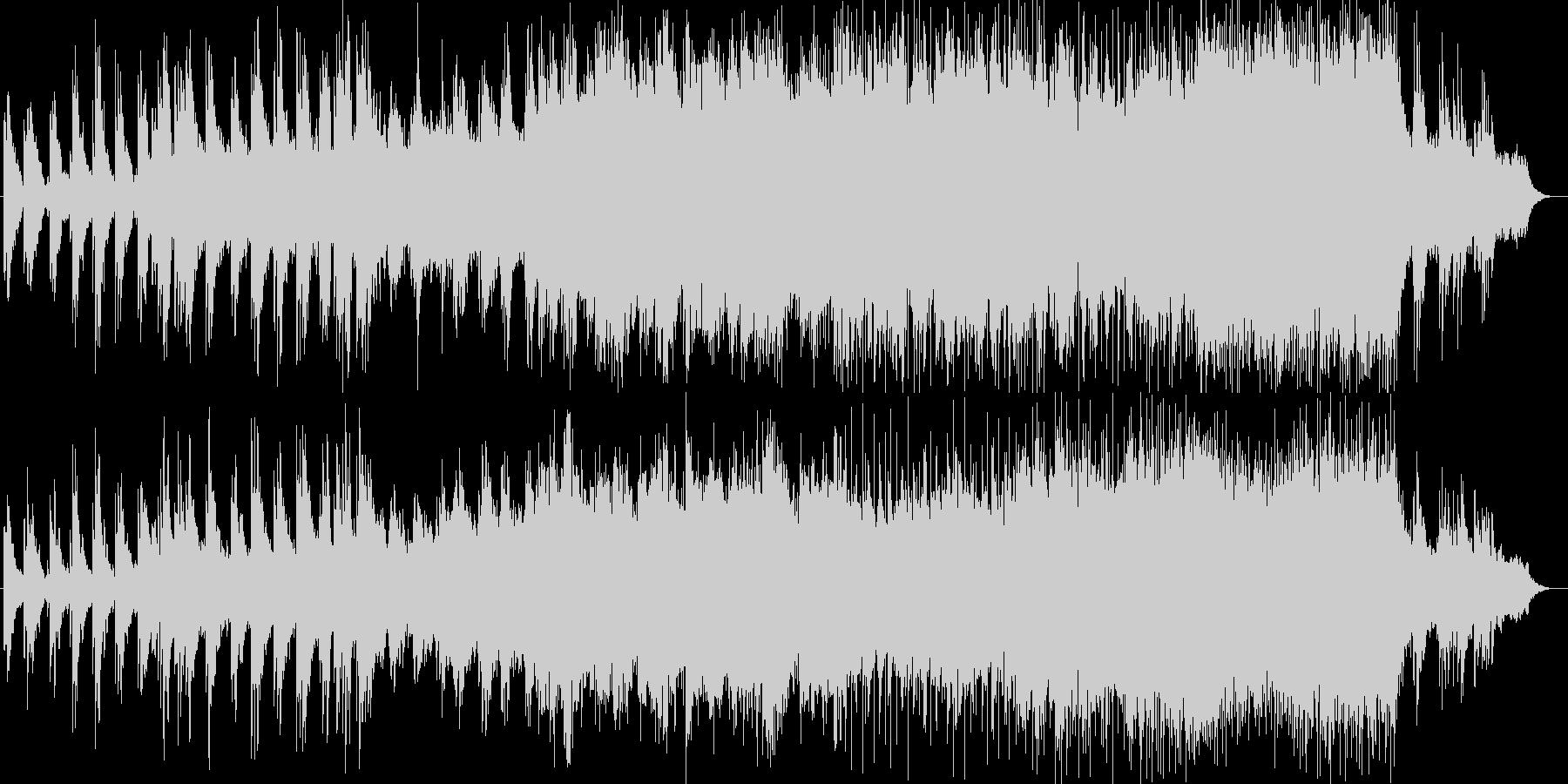 ピアノとストリングスの壮大なポップスの未再生の波形
