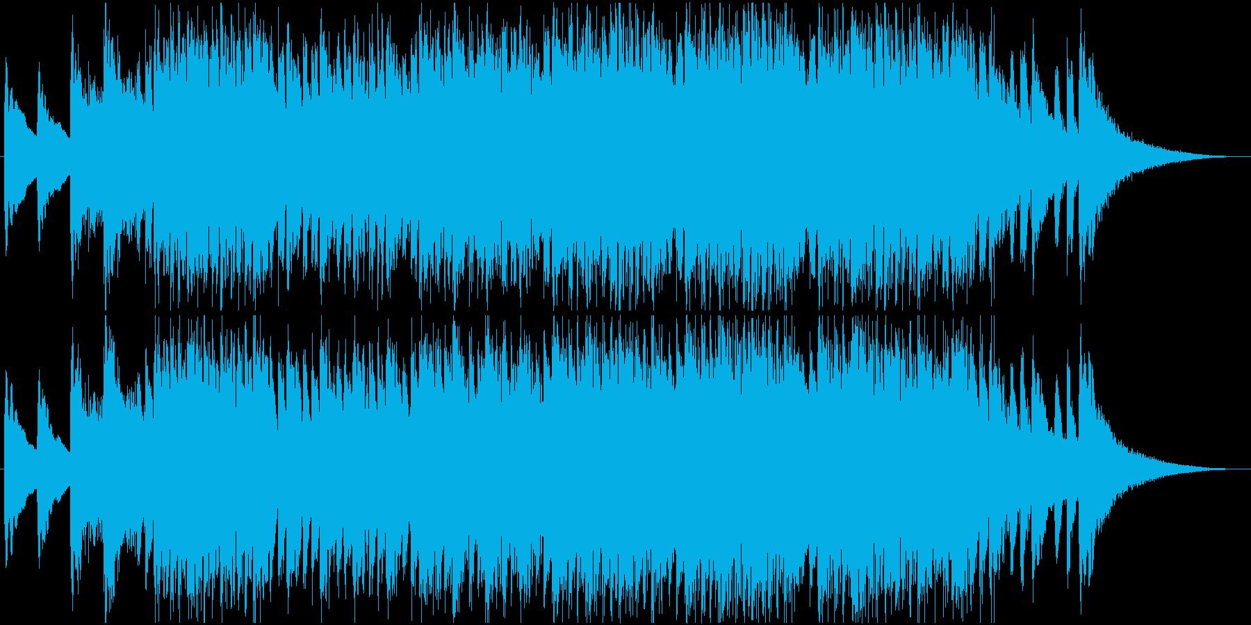【映画風】気味が悪いBGMの再生済みの波形