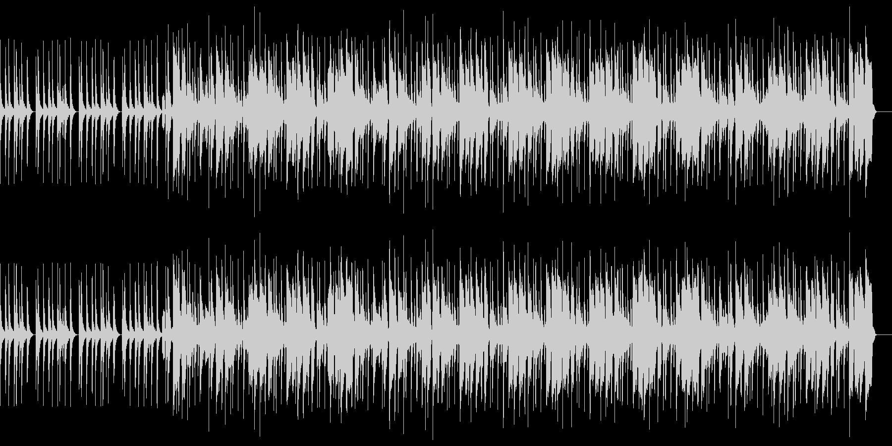 陽気でカワイイ口笛ソングの未再生の波形