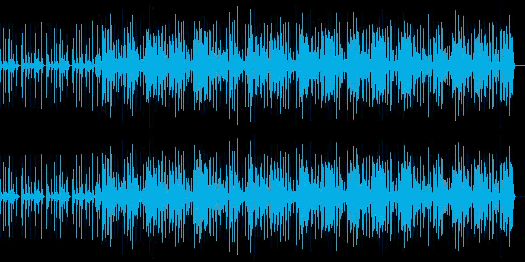 陽気でカワイイ口笛ソングの再生済みの波形