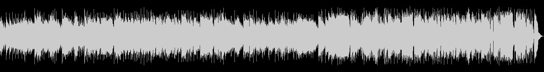 トランペットがメロディーの明るいジャズの未再生の波形