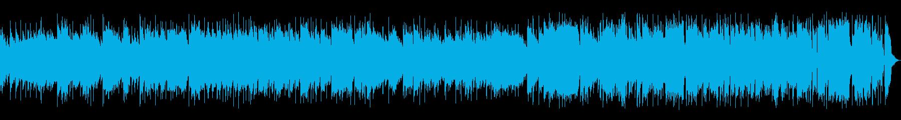 トランペットがメロディーの明るいジャズの再生済みの波形
