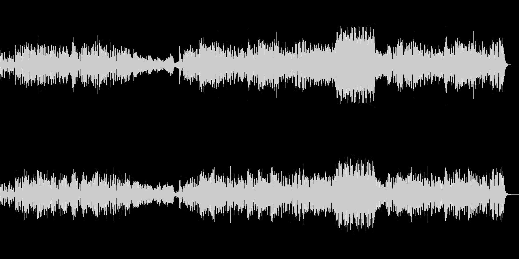 フルートの陽気なクラシック(葦笛の踊)の未再生の波形