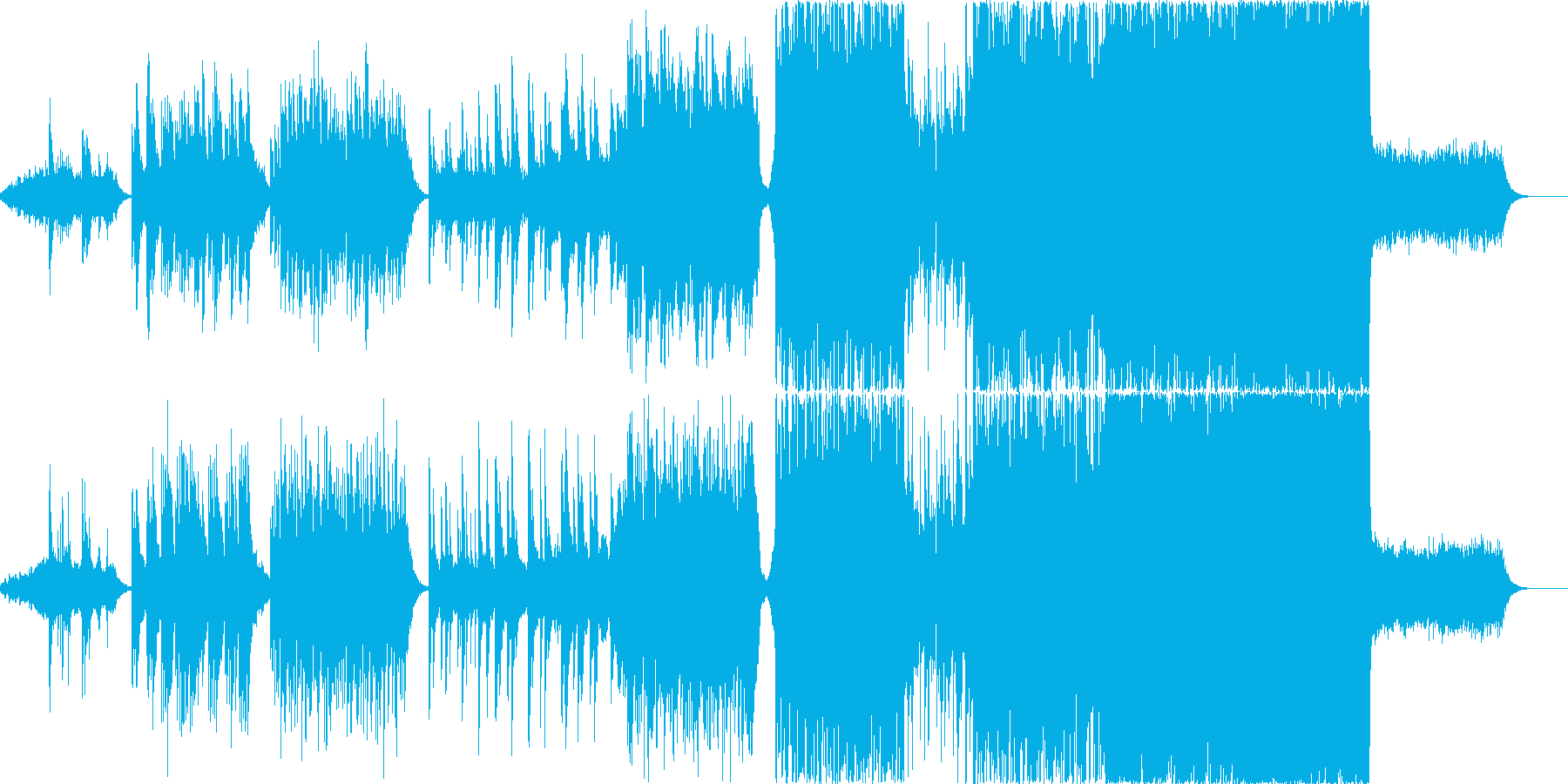 感動的なシーンを想定した楽曲ですの再生済みの波形