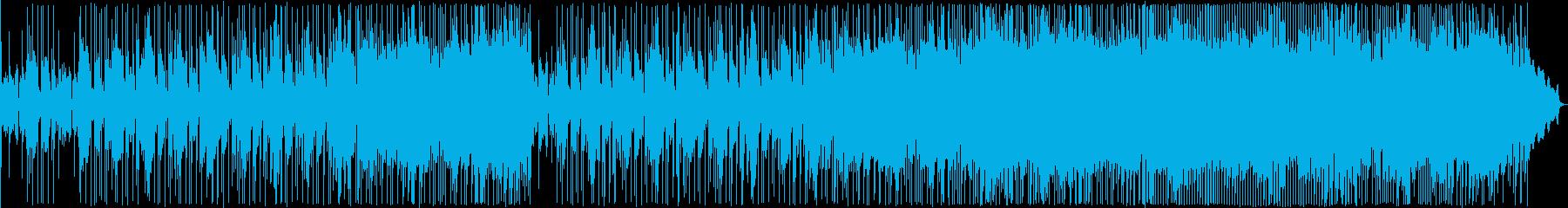ゆったりとしたブルージーなバラードの再生済みの波形
