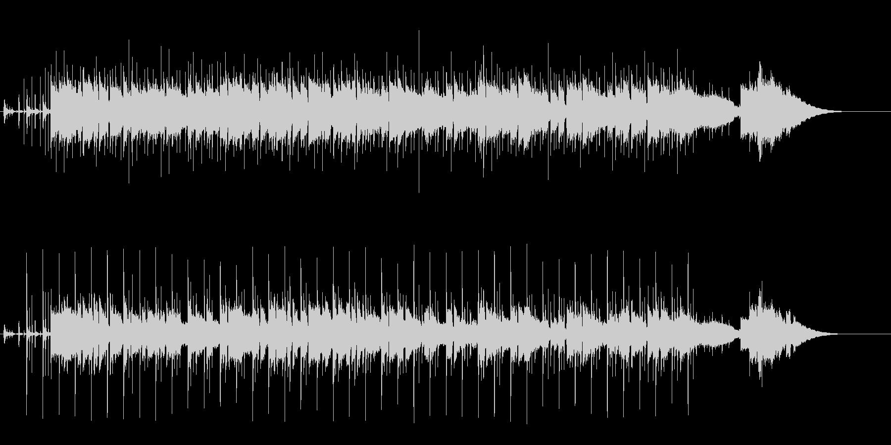 センチメンタルなギター・バラードの未再生の波形