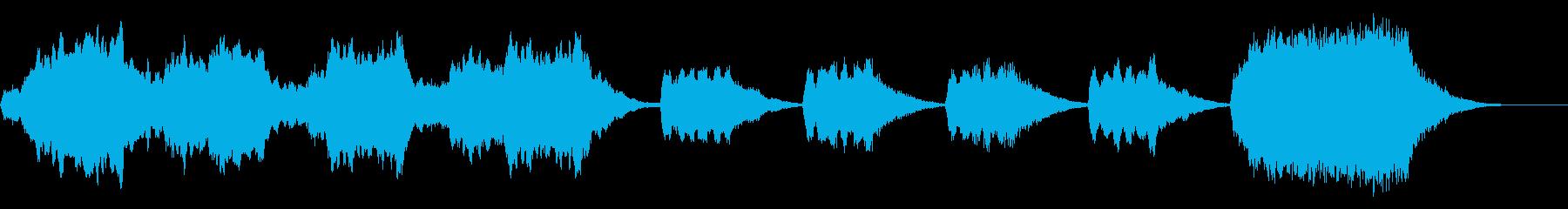 ストリングス系30秒ジングル 失ったモノの再生済みの波形