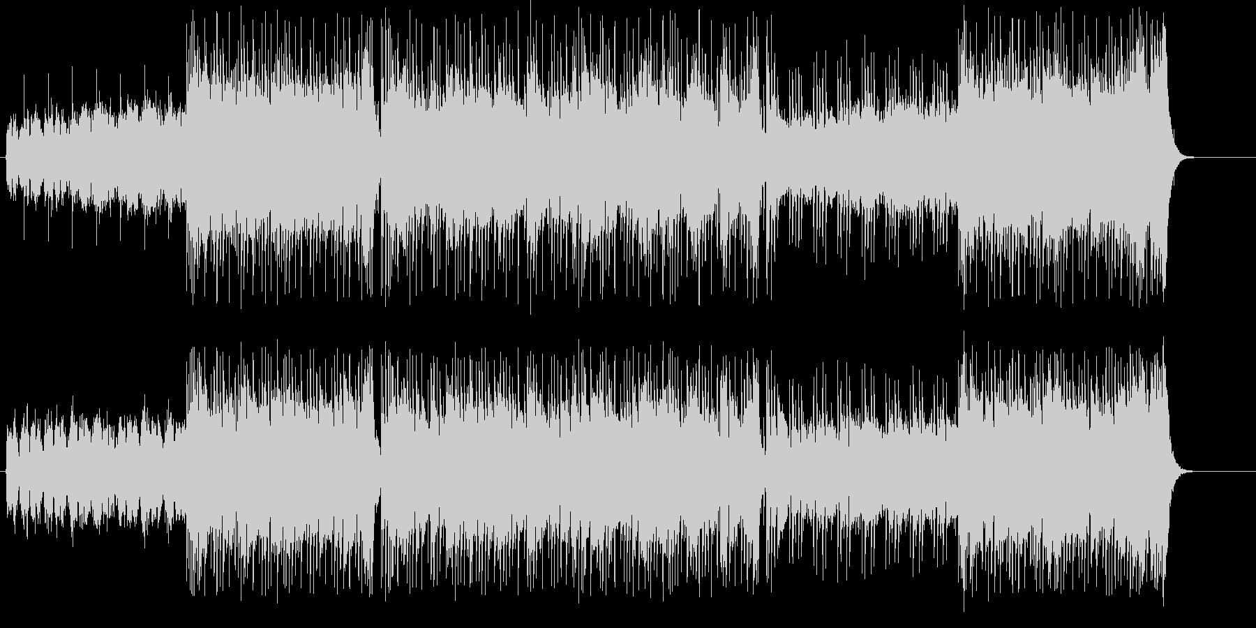 アーバンカジュアルな「スリル」イメージの未再生の波形