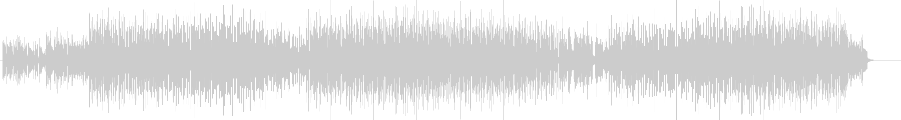 ラウンジBGMの未再生の波形