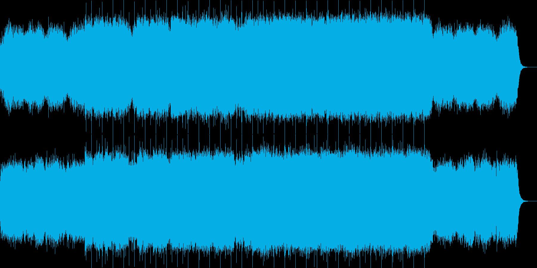 ストリングスが印象付ける幻想的な楽曲の再生済みの波形