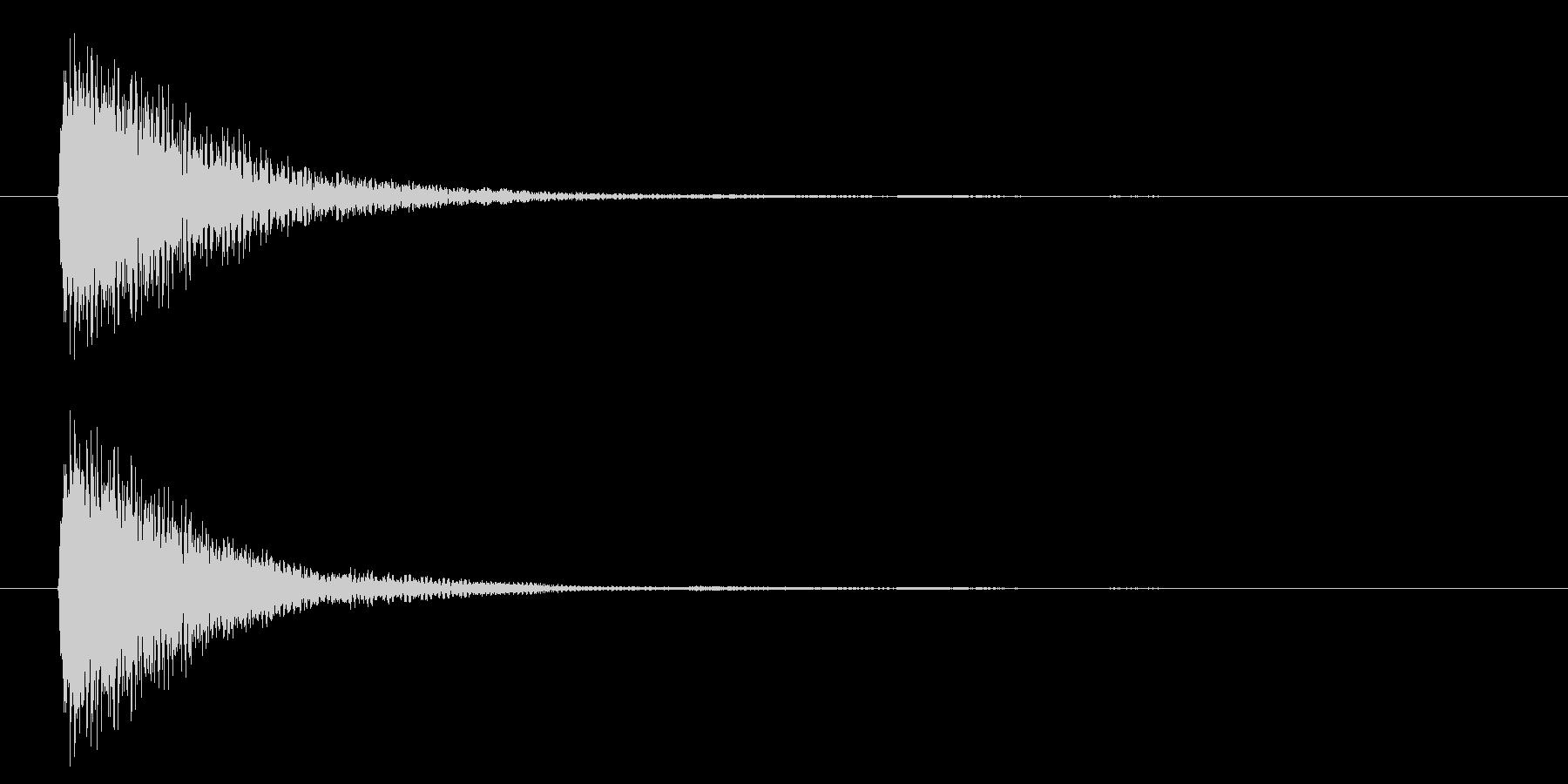 アプリ・ゲームの決定音_011の未再生の波形