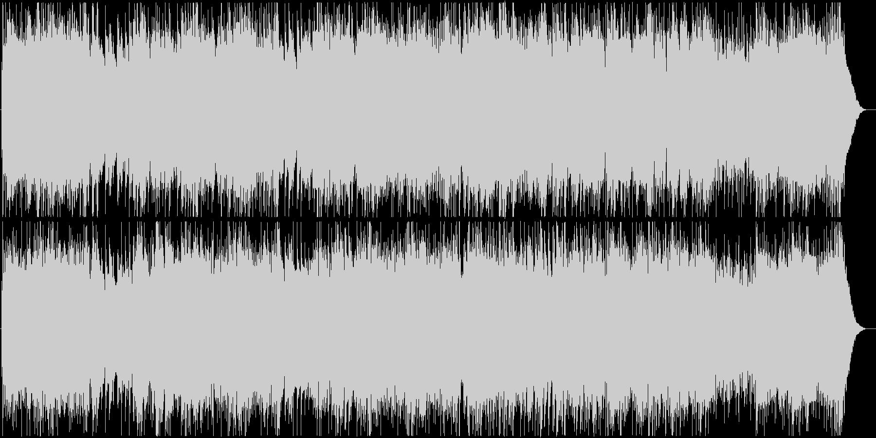 【アコギ】式典にふさわしいクラシックの未再生の波形