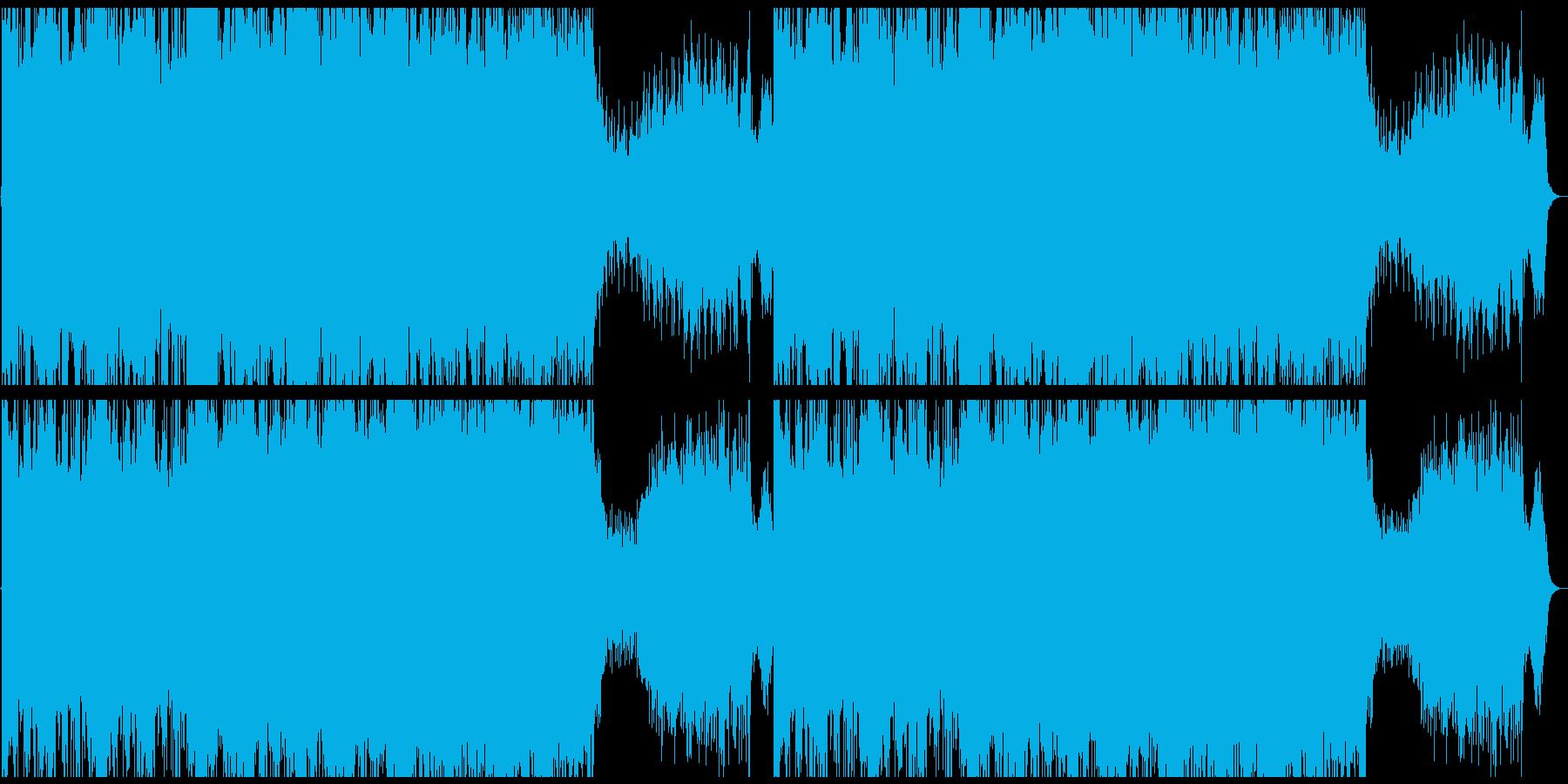 古代遺跡を探索する民族音楽の再生済みの波形