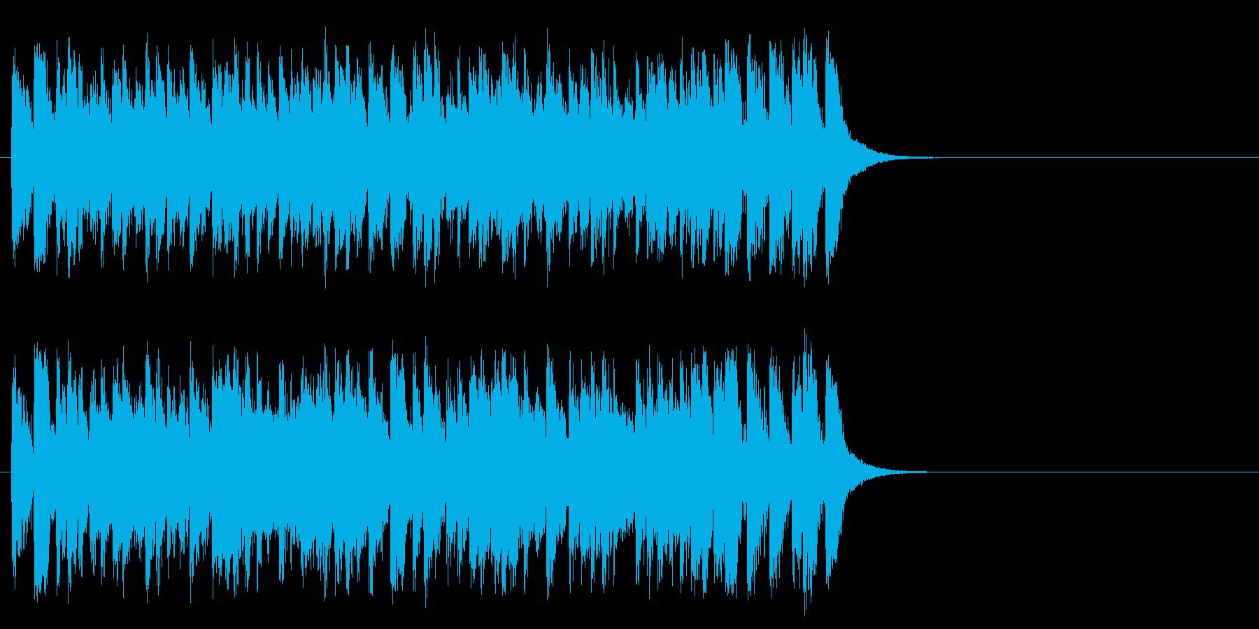 颯爽と繰り出す軽妙ポップ(サビ)の再生済みの波形