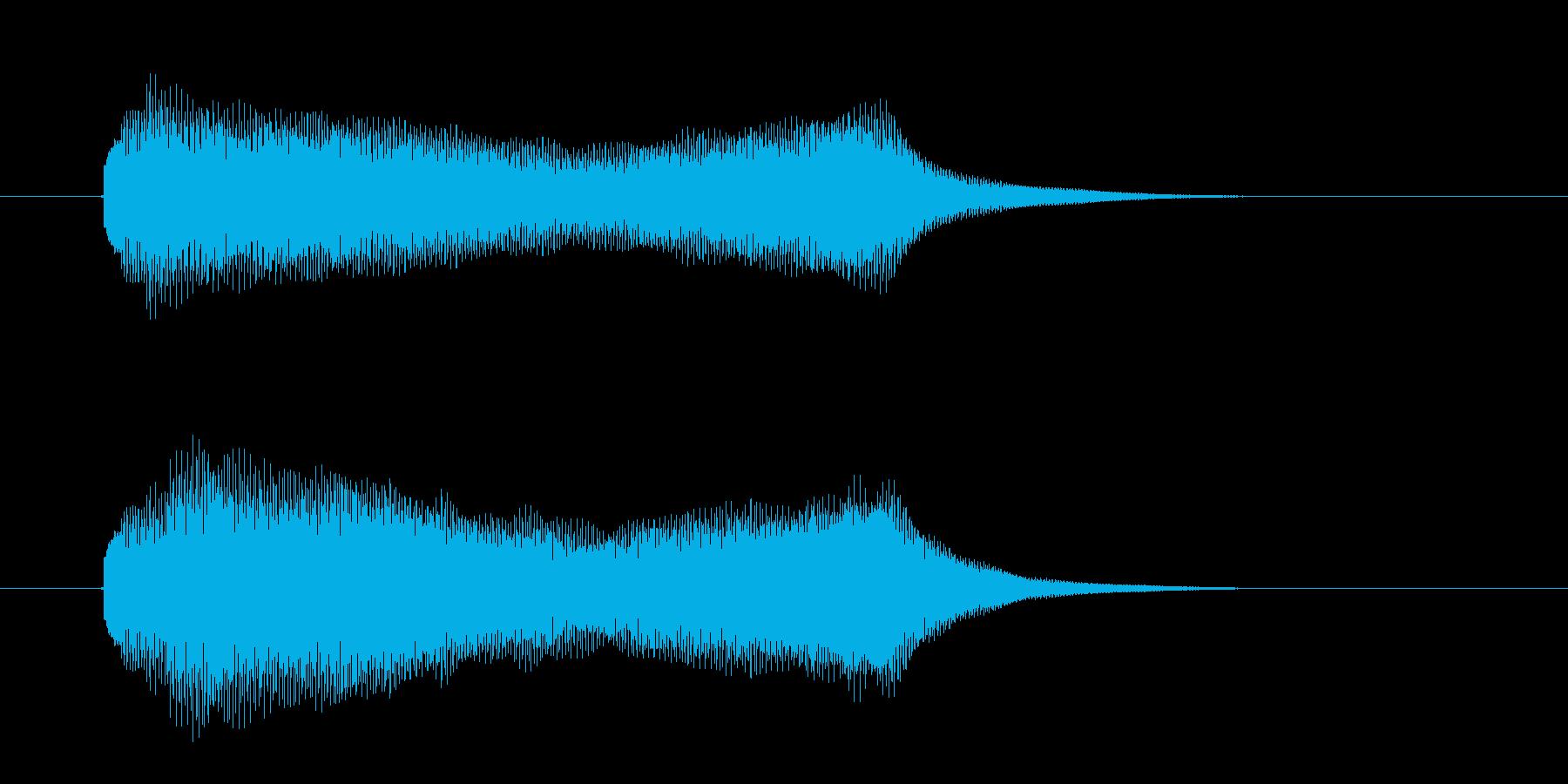 ポローン(透明感、爽やか)の再生済みの波形