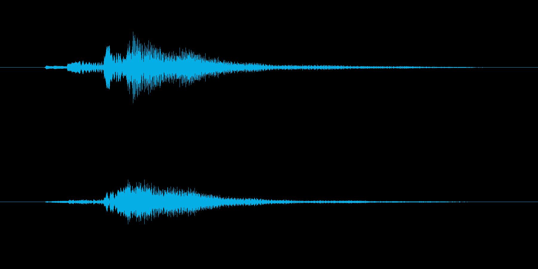 グランドハープのグリッサンド inF#の再生済みの波形