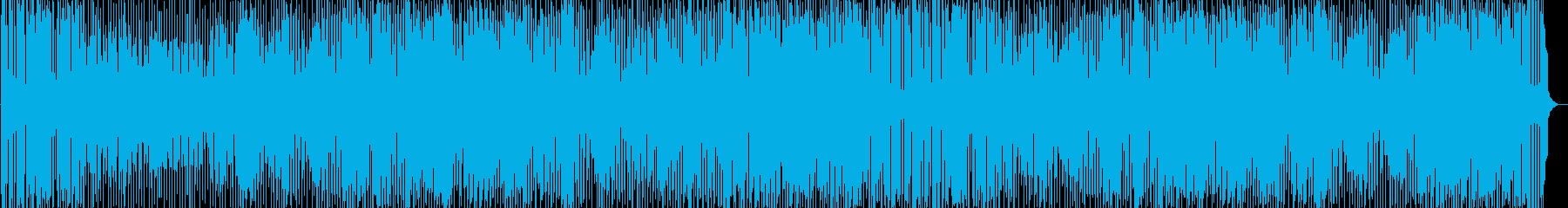 明るく元気の出る愉快なBGMの再生済みの波形