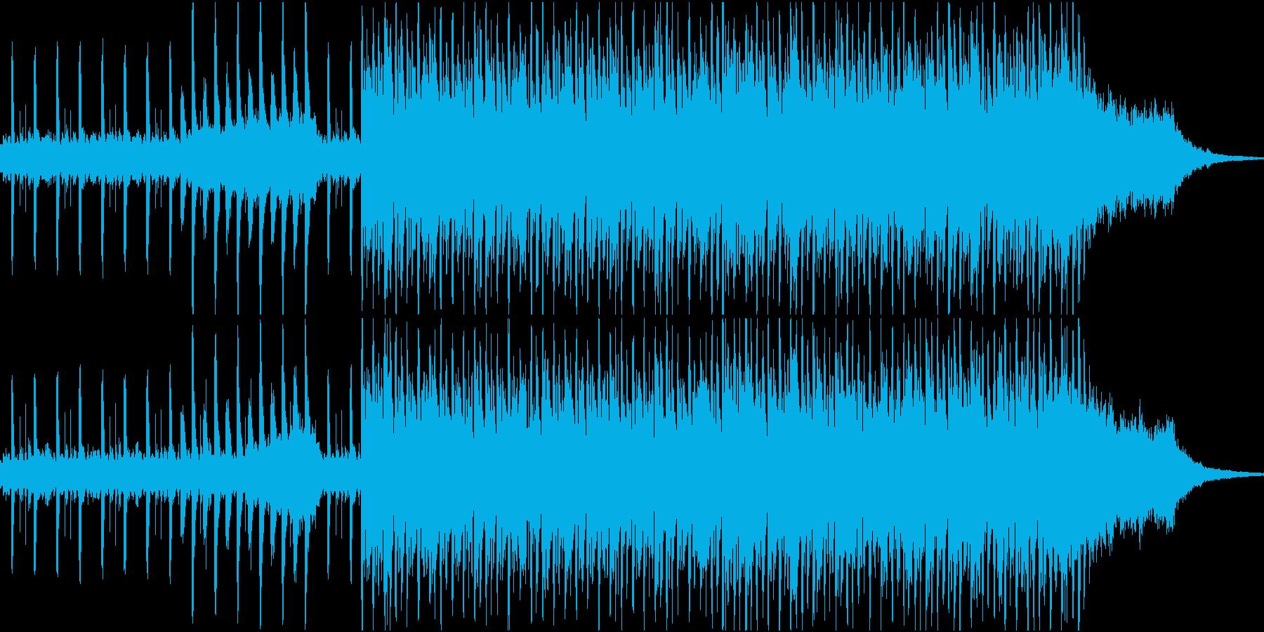 ノリのいいシンセ・オープニングの再生済みの波形