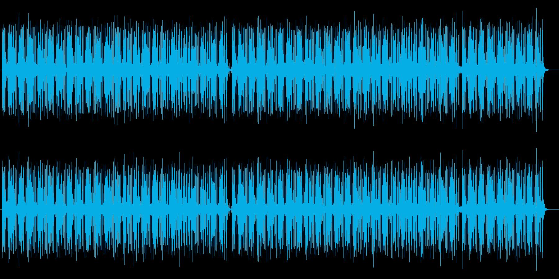 明るくてかわいいシンセミュージックの再生済みの波形