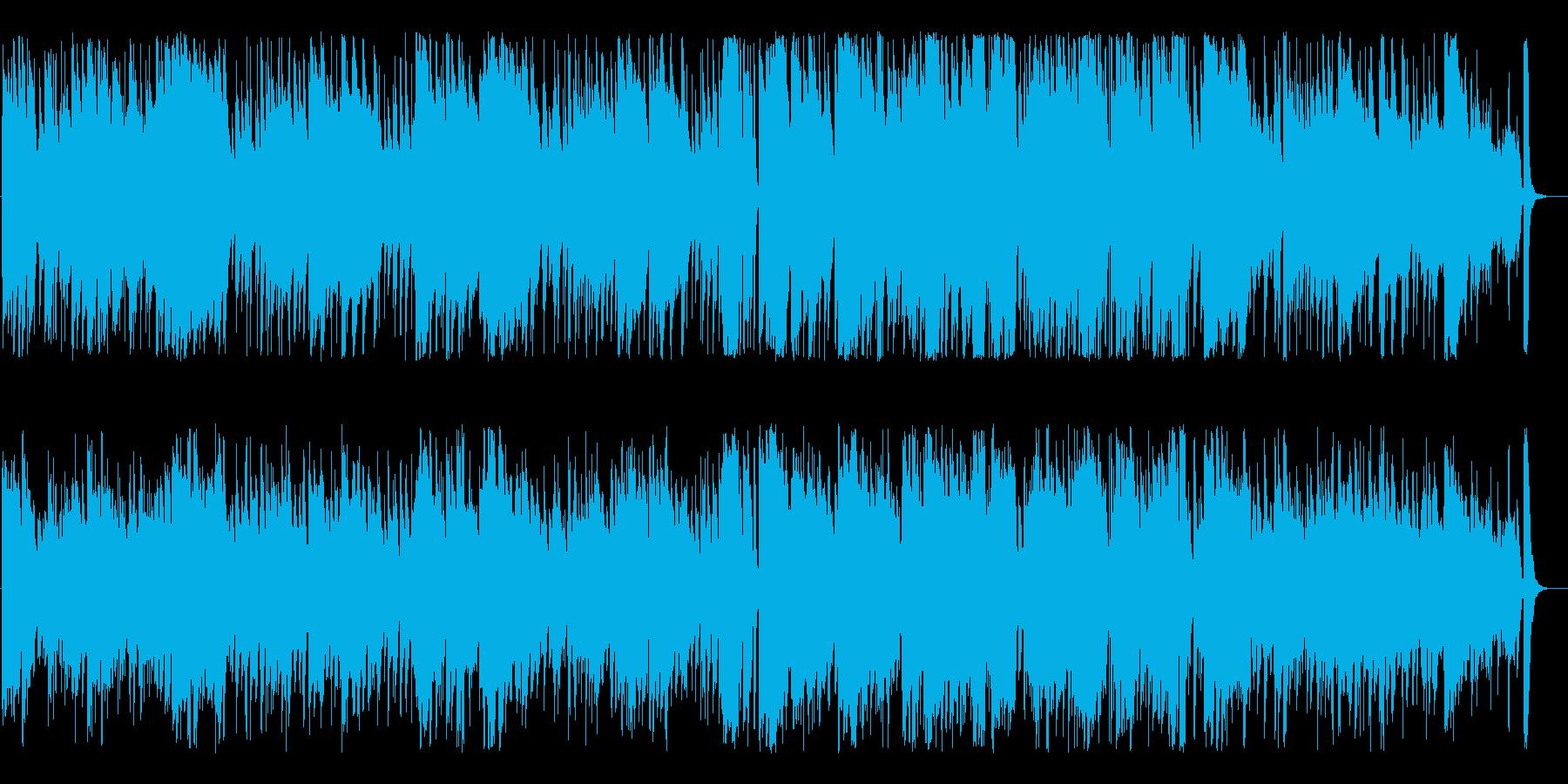 きらきら星(sax)の再生済みの波形