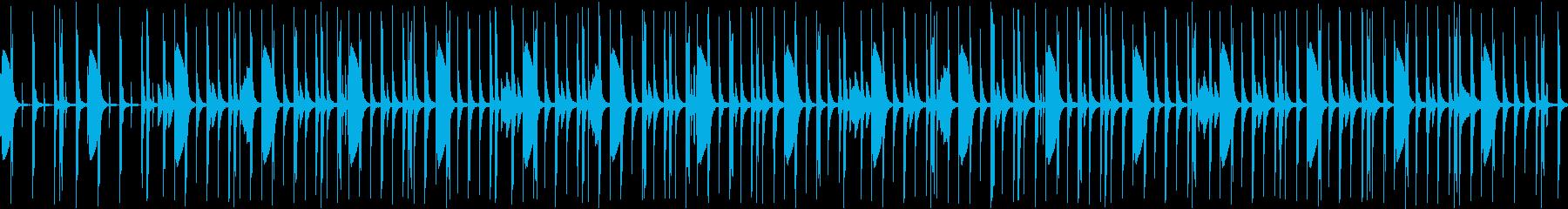 クイズショー、シンキングタイム、ループの再生済みの波形