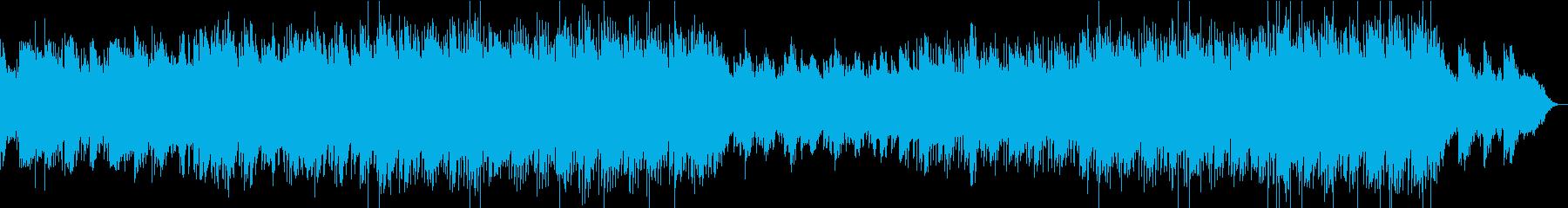 スタイリッシュでクールなエレクトロの再生済みの波形