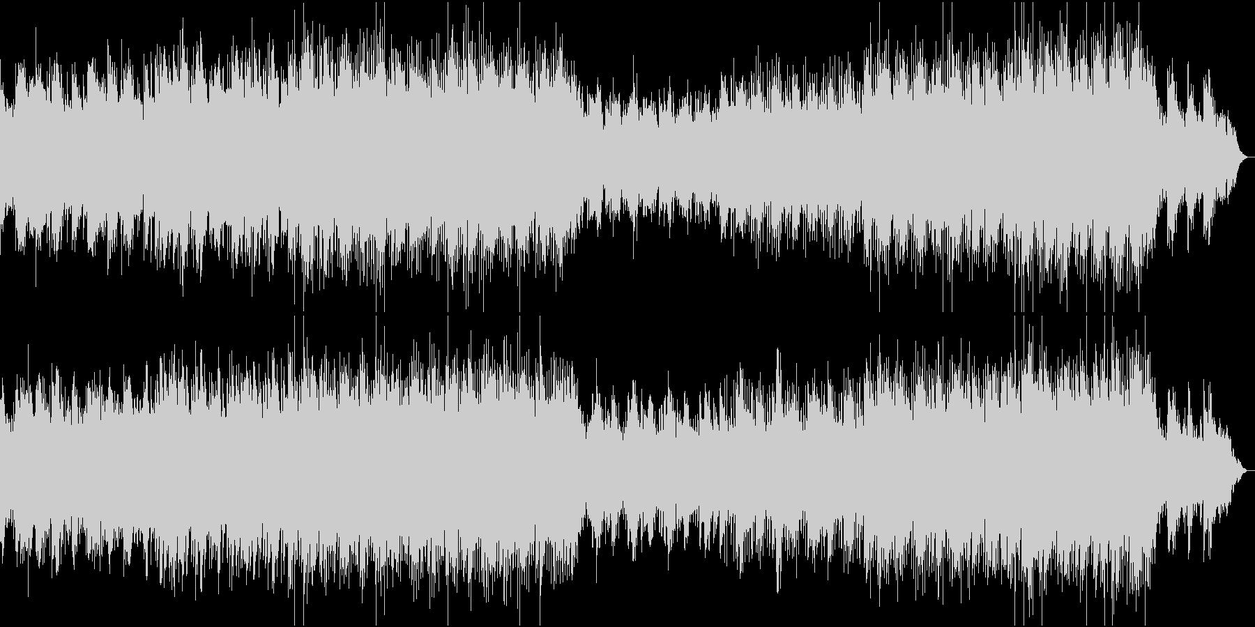 スタイリッシュでクールなエレクトロの未再生の波形