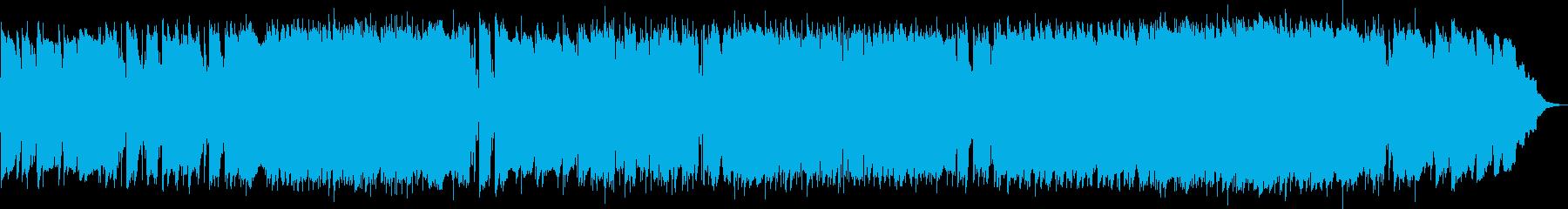 リラックスできるサマーミュージックの再生済みの波形