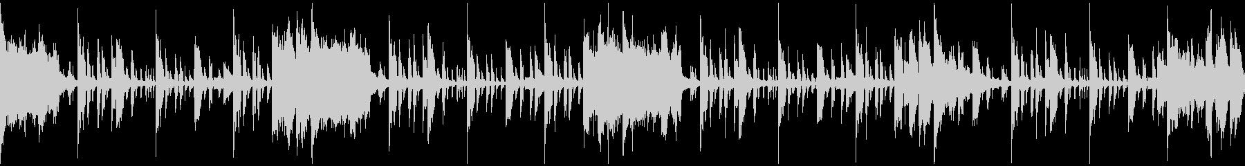 サスペンス調のエレクトロニカループの未再生の波形