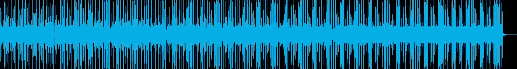 このサイトで一番かっこいいヒップホップの再生済みの波形