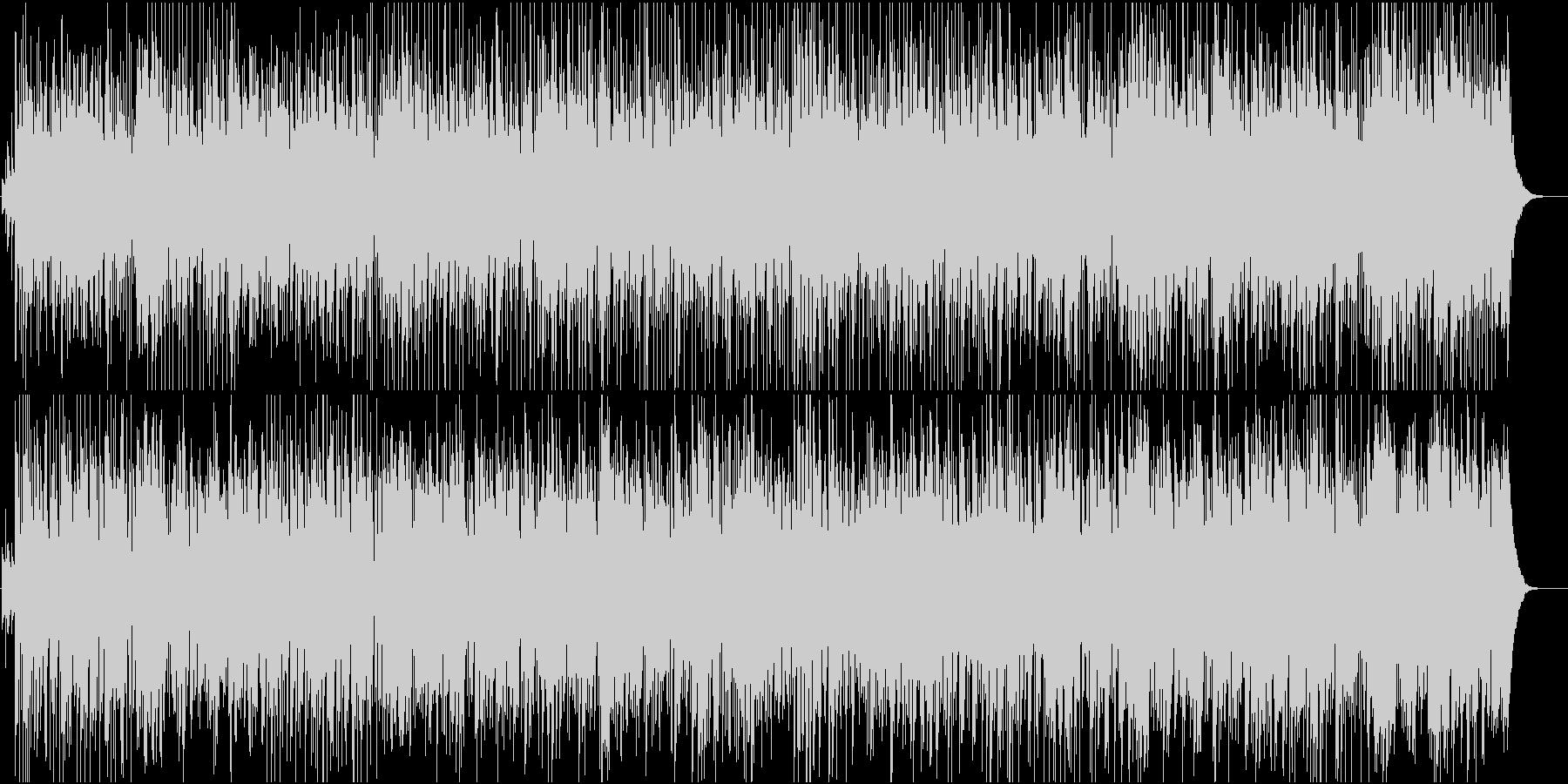 アコースティックギターのラテンジャズの未再生の波形