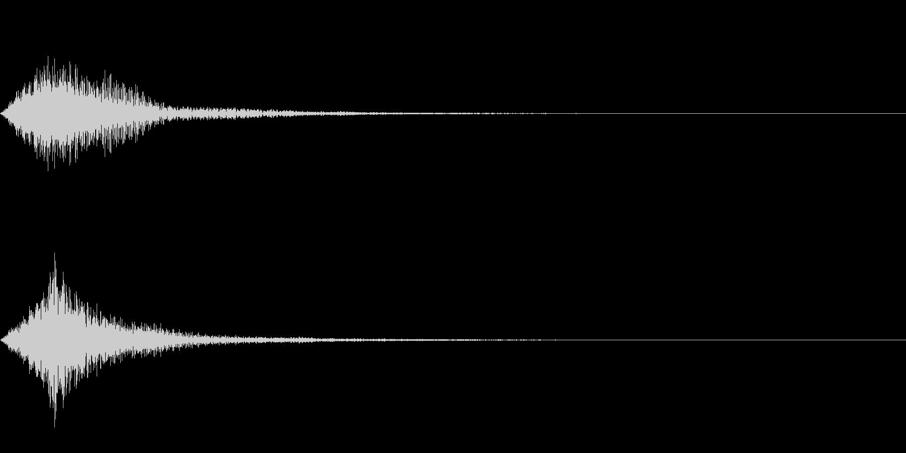 システム音 メニュー エラー_01の未再生の波形