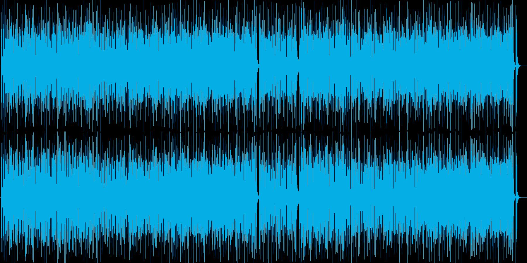 はじけるシンセ・ピアノ・打楽器などポップの再生済みの波形