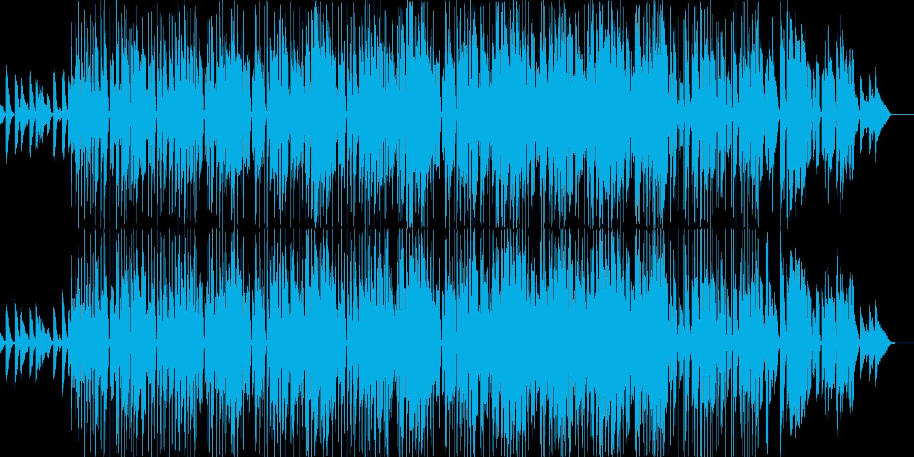 明るくおちゃらけたファンクロックの再生済みの波形