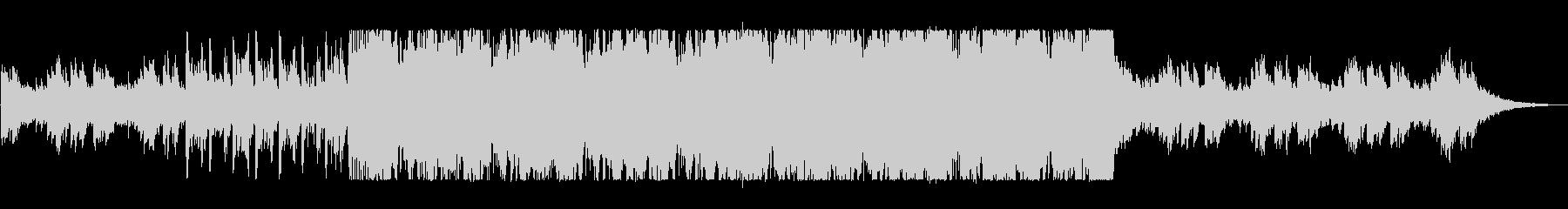 疾走感あふれるピアノドラムンベースの未再生の波形