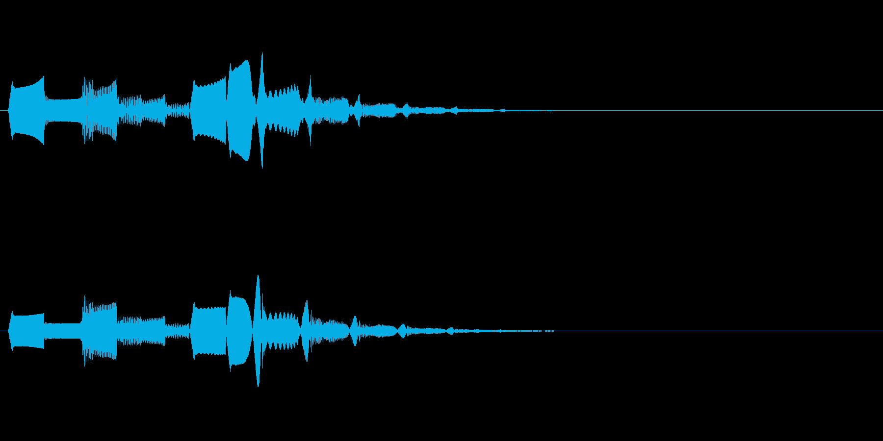 ブクブクッ・・・ブワッ(水魔法、泡)の再生済みの波形
