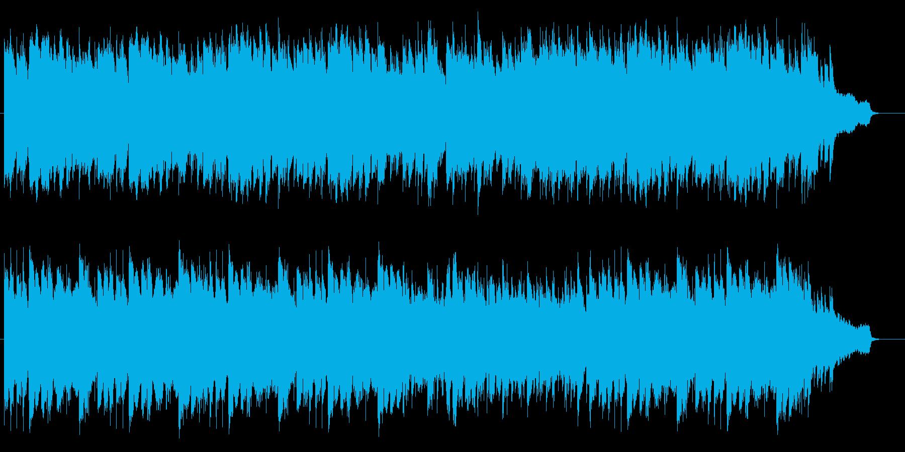 初恋をイメージしたインスト曲ですの再生済みの波形